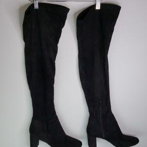 Nine West thigh high boots sz 9.5